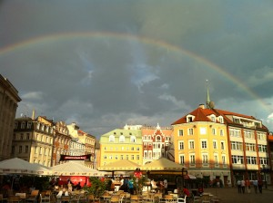 rainbow in riga