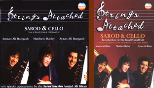 Strings Attached CD and DVD packshots